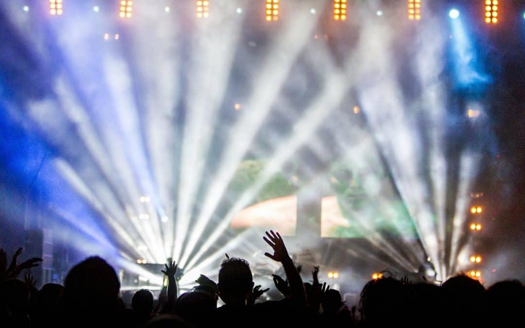 L'entrata in scena nei concerti