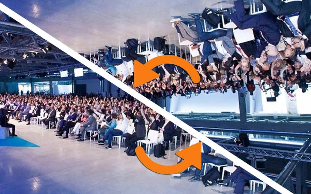 Da flipped classroom a flipped conference: innovare i convegni per renderli efficaci